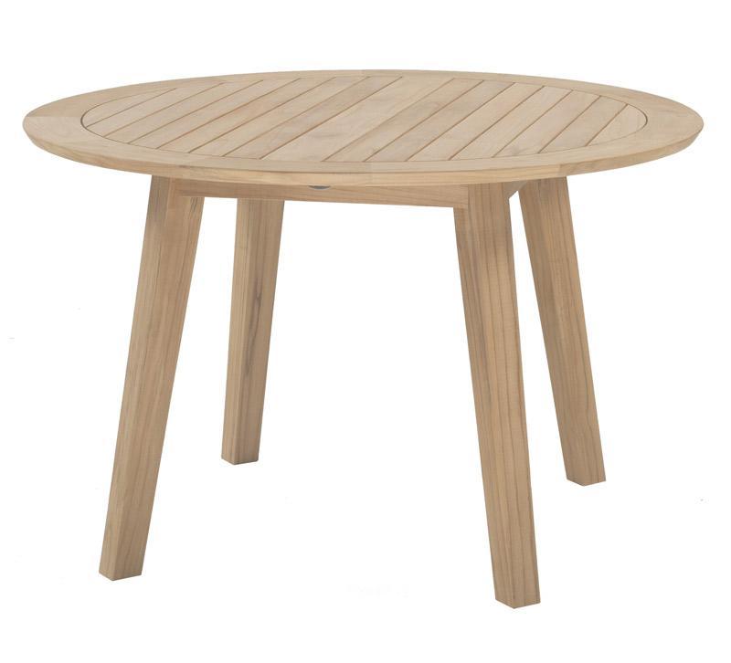 vrtna miza izdelana iz teak lesa