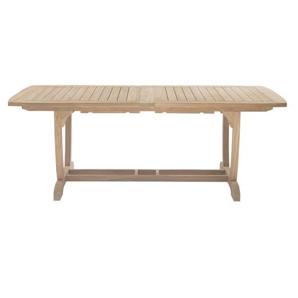raztegljiva vrtna miza iz tika