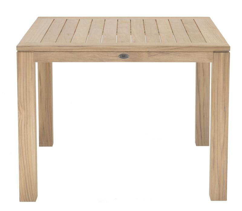 vrtne mize iz tikovega lesa