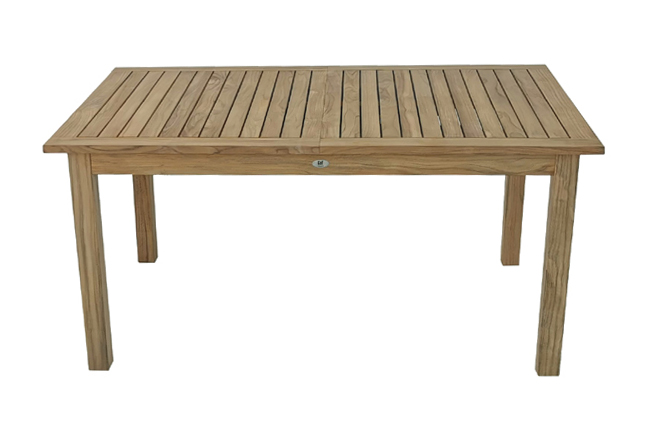 tikova raztegljiva miza