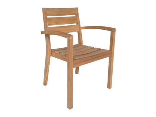 vrtni stol iz tikovega lesa
