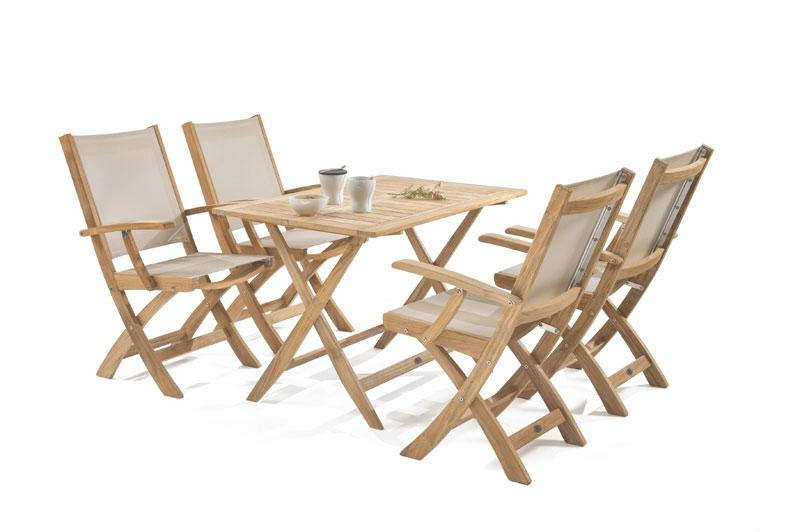 lesena zložljiva miza