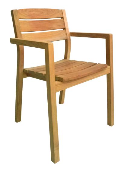 masivni stol iz tikovine